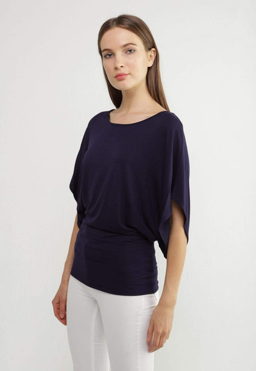 Kay Celine Top XS / Navy Tinley Jersey Top