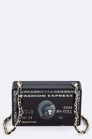 Black Card Clutch