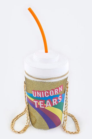 Unicorn Tears Drink Clutch