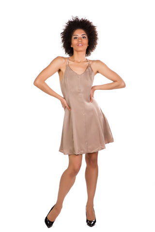 My Way Dress (Mocha)