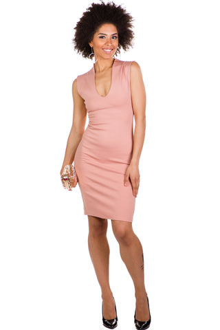 Addison Dress (Blush)