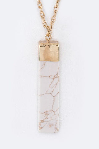 Marble Me Necklace