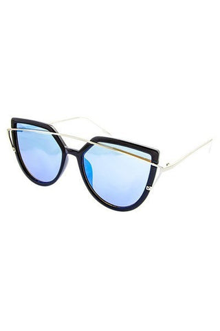 Pardon Me Glasses (Black & Blue)