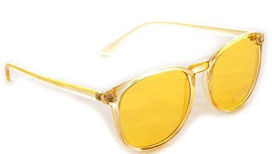 Doll Face Glasses (Yellow)