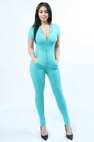 Betty Jumpsuit (Mint)