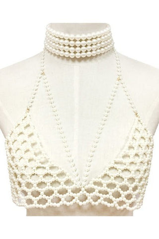 Bodied Bra Top (Ivory)