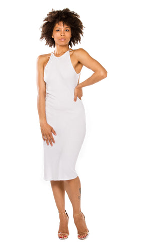 Angela Dress (White)