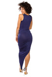 Levels To This Dress (Navy)