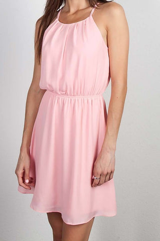 Scoop Neck Flare Dress