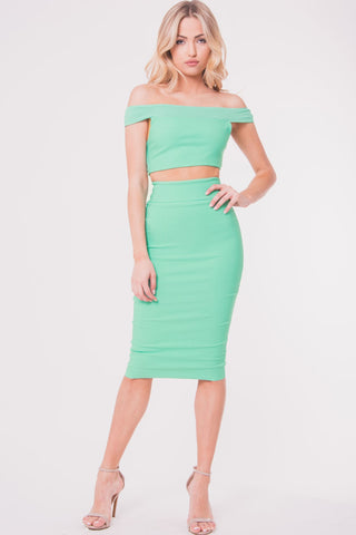 Eye Candy Skirt (Mint)