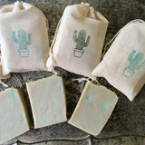 Cactus Baby Shower Soap Favors