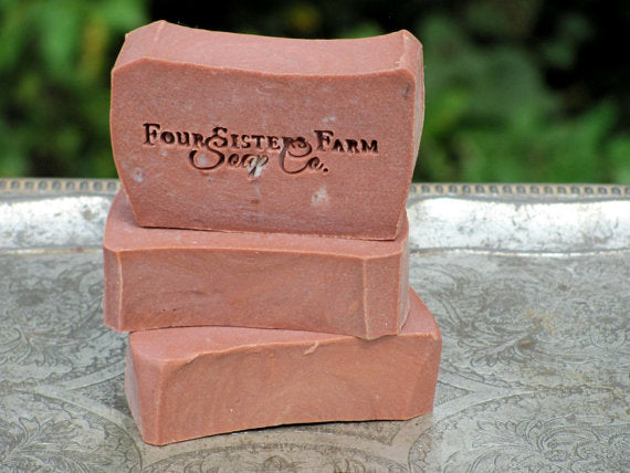 cowboy leather soap