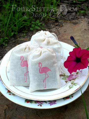 Pink Flamingo Baby Shower Favors Aloha