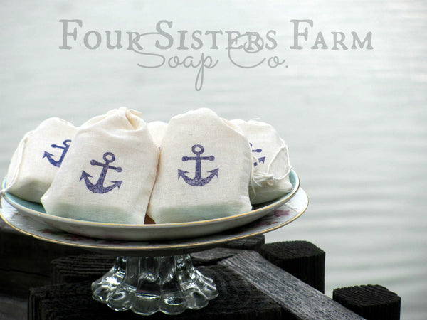 Anchor/Nautical Baby Shower Soap Favors