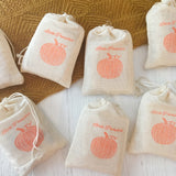 little pumpkin baby shower favors