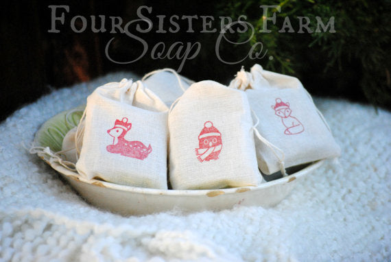 Woodland Santa Babies (Stocking Stuffer Soap Favors)