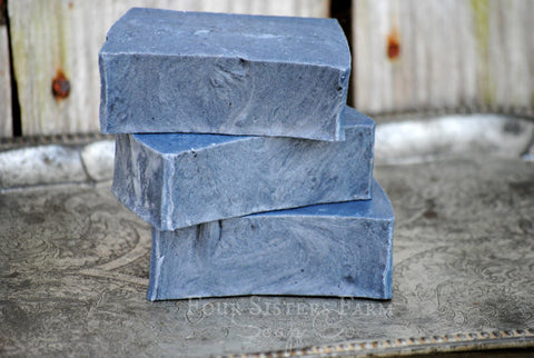 charcoal powder soap
