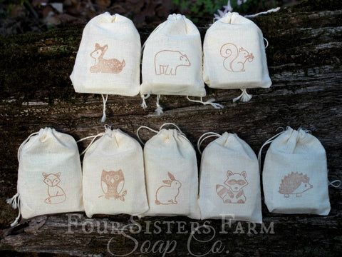 Woodland Creatures Baby Shower Favors