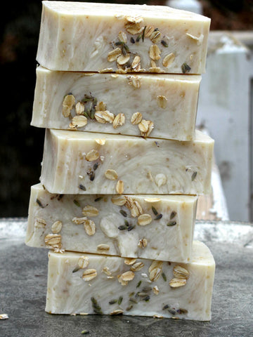 Black Friday Sale - Lavender Oatmeal Soap - #1 Best Seller