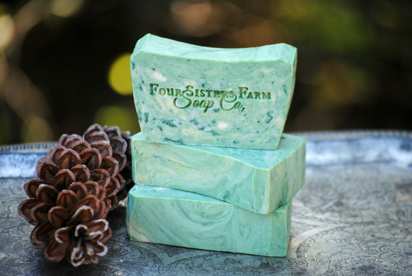 Sugared Spruce Soap