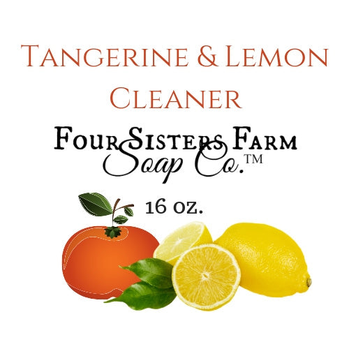 Tangerine Lemon Natural Cleaner