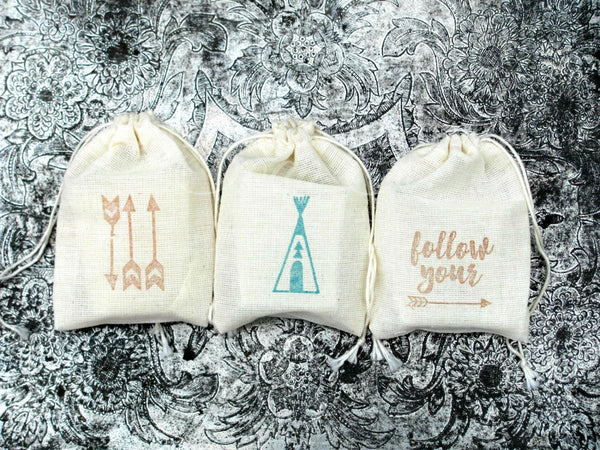 TeePee Tribal Baby Shower Favors