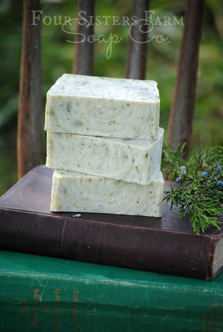 Black Friday Sale - Winter's Morning Soap