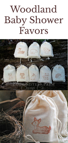 Woodland Creature Soap Favor