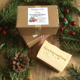 Red Christmas Truck Christmas Tree Farm Soap