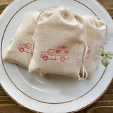 Red Truck Valentine Soap Favors