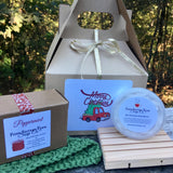 Red Christmas Truck Soap Gift Set