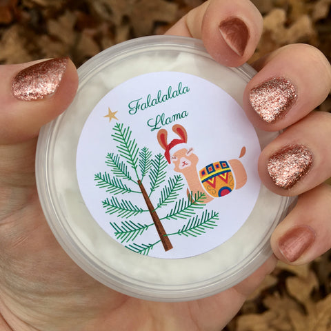 Falalala Llama Body Butter (Whipped Cream Scent)