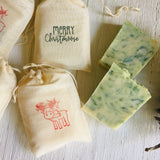 Black Friday Sale - Farmhouse Merry Christmoose Soap Favors