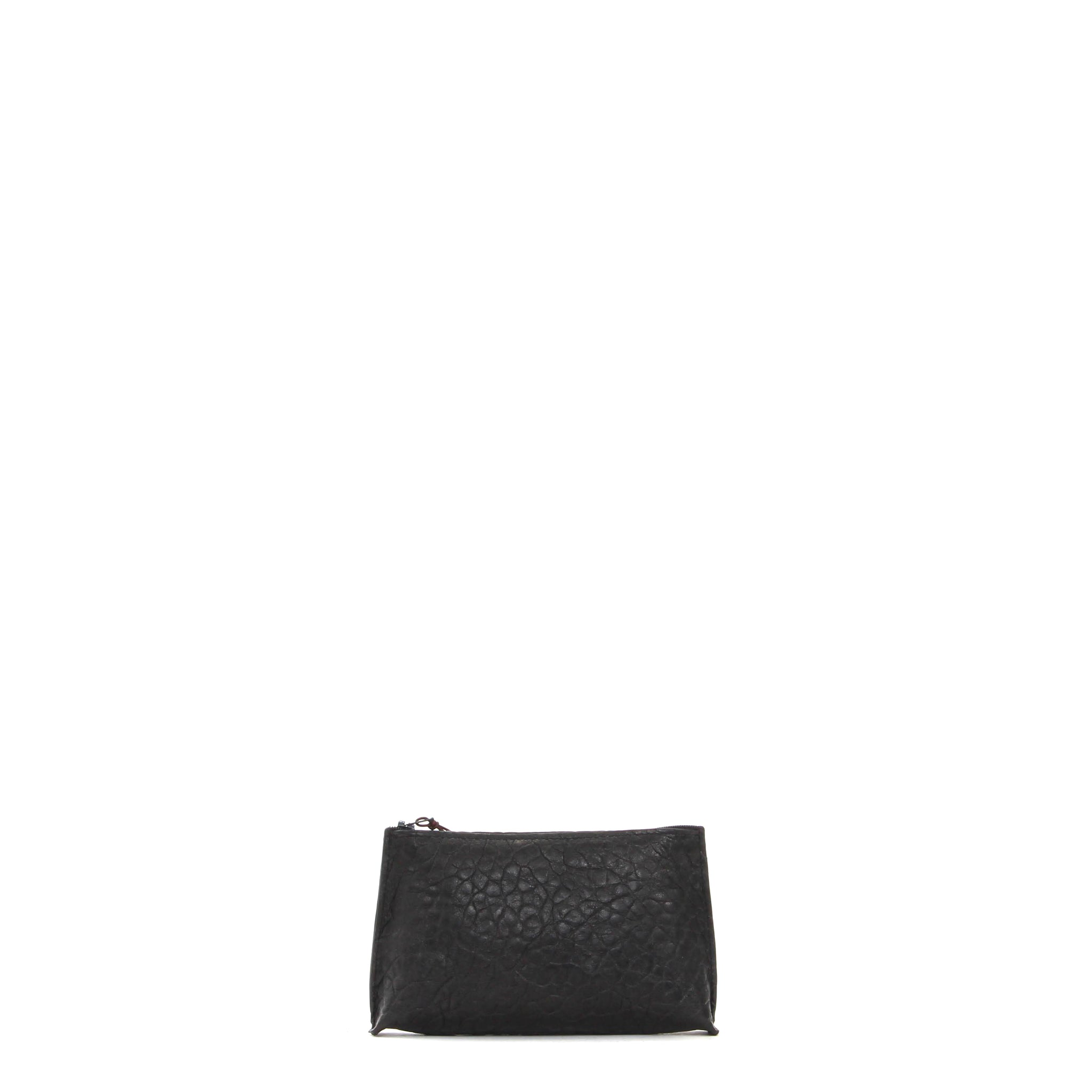 LIPSTICK POUCH LICORICE SHEEPSKIN
