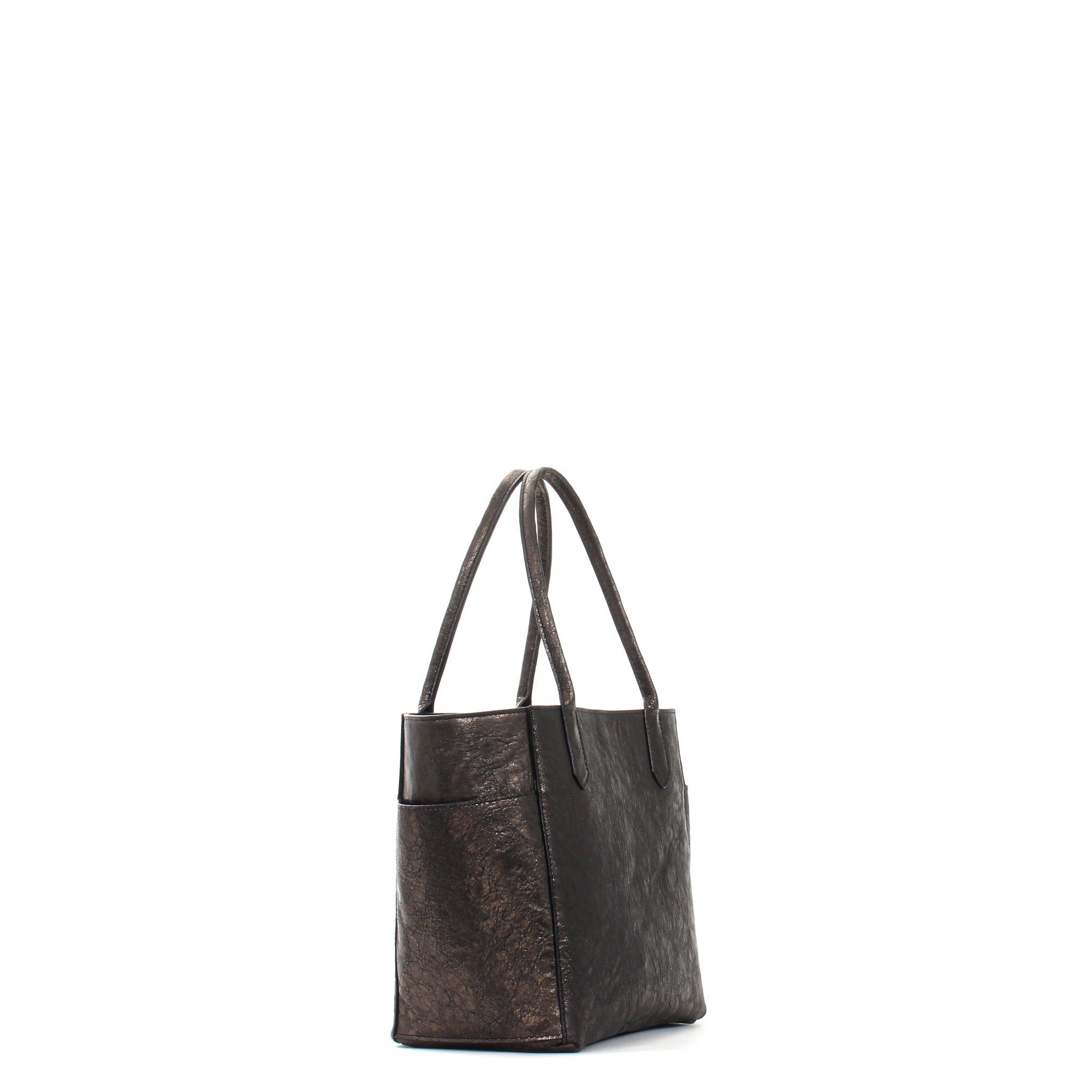 MINI POCKET TOTE PYRITE SHEEPSKIN