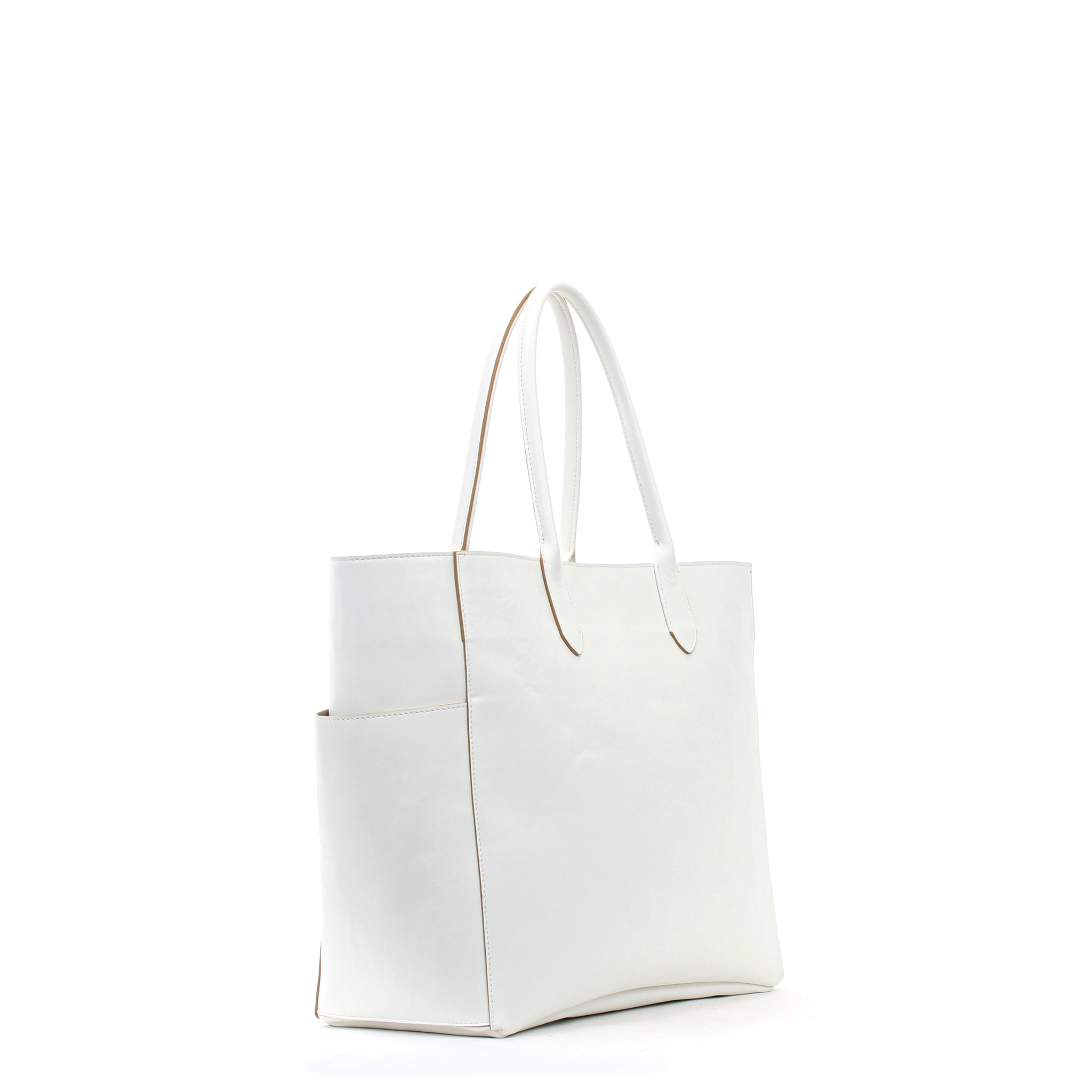 XL POCKET TOTE LINEN CALF
