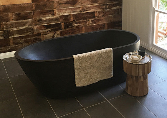 Polished Concrete Oasis Bath