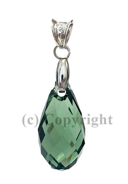 Briolette Pendant Embellished with Crystal from Swarovski 17 mm