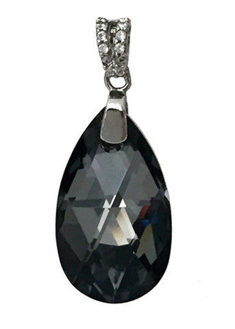 Pear Pendant Embellished with Crystal from Swarovski 22mm