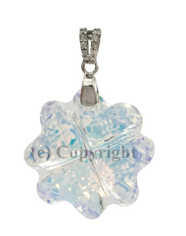 Clove Pendant Embellished with Crystal from Swarovski 23 mm
