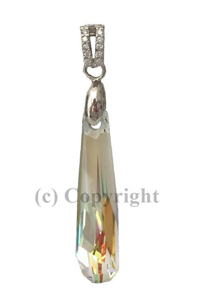 Grand Crystalactite Pendant Embellished with Crystal from Swarovski 30mm