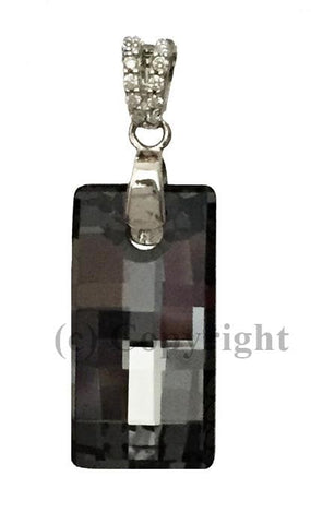 Urban Pendant Embellished with Crystal from Swarovski 20 mm