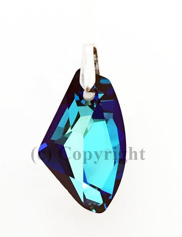 Galactic Vertical Pendant Embellished with Crystal from Swarovski