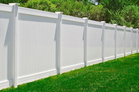 6' Vinyl Privacy Fence Section