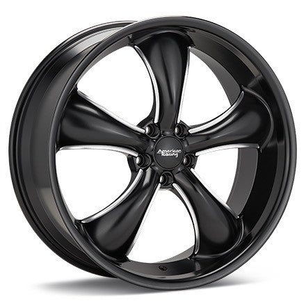 American Racing AR912 TT60 Satin Black