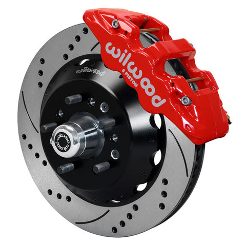 WILWOOD AERO6 Big Brake Front Brake Kit 140 15053 DR: CAMARO/NOVA,67-72