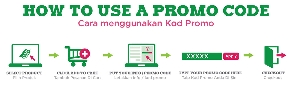 How to use a promo code
