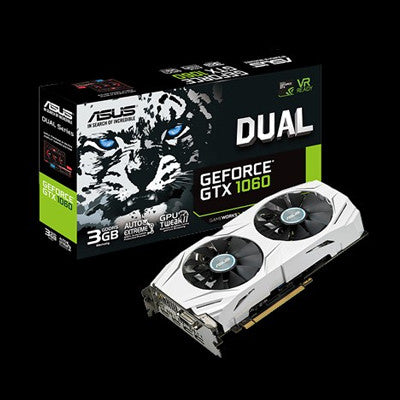 ASUS Dual series GeForce® GTX 1060