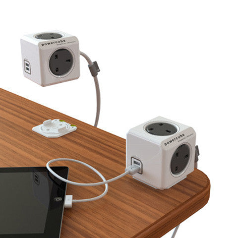 Allocacoc PowerCube Extended USB 1.5m/3.0m