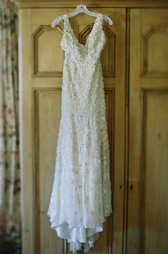 Beaded And Embellished Wedding Dress